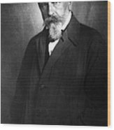 Arthur Schnitzler Wood Print