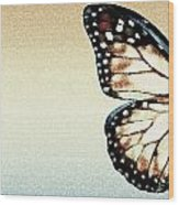 Artistic Butterfly Wood Print