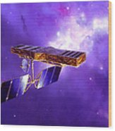 Artists Concept Of Space Interferometry Wood Print