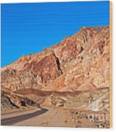 Artists Palette Death Valley California Wood Print