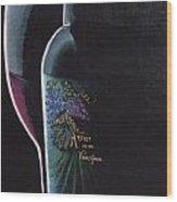 Artists Vineyard Wood Print