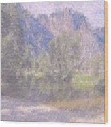 As If Monet Painted Yosemite Wood Print