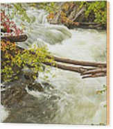As The River Flows Wood Print