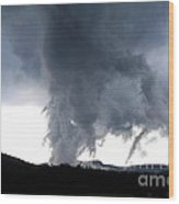 As The Storm Passed 1 Wood Print