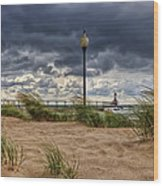 As The Storms Roll Through 2 Wood Print