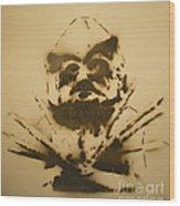 Asaro Mudman Wood Print