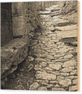 Ascent In Beynac France Wood Print