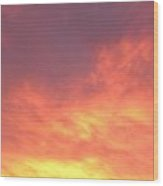 Ashburn Sunset 18 Wood Print