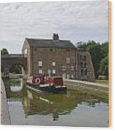 Ashby Canal At Moira Furnace Wood Print