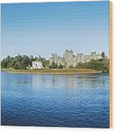 Ashford Castle Hotel, Near Cong, Co Wood Print