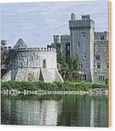 Ashford Castle, Lough Corrib, Co Mayo Wood Print