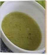 Asparagus Soup Wood Print