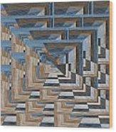 Aspiration 5 Wood Print