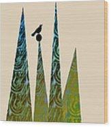 Aspire Wood Print