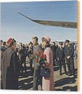 Assassination Of President Kennedy Wood Print