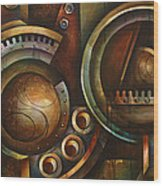 'assembly Required' Wood Print by Michael Lang