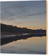 Assynt Reflections Wood Print