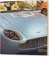 Aston Martin Db9 Convertible . 7d9622 Wood Print