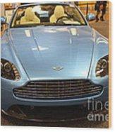 Aston Martin Db9 Convertible . 7d9623 Wood Print