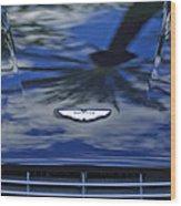 Aston Martin Hood 2 Wood Print