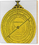 Astrolabe Wood Print by Omikron