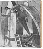 Astronomer, 1869 Wood Print