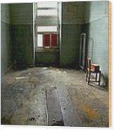 Asylum Room Wood Print