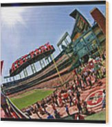 At And T The Stadium Wood Print