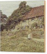 At Stedham Near Midhurst Wood Print by Helen Allingham