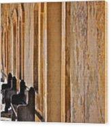 At The Castillo De San Cristobal Wood Print