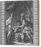 Atalanta And Meleager Wood Print