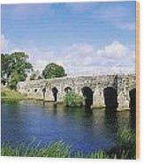 Athboy, Co Meath, Ireland Bridge Wood Print