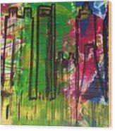 Atlanta Wood Print