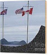 Atlantic Charter Site Wood Print