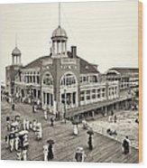 Atlantic City Steel Pier 1910 Wood Print