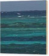 Atlantic Ocean Afternoon Wood Print