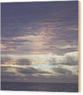 Atlantic Ocean Sunrise 1 Wood Print