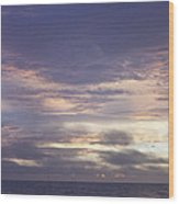 Atlantic Ocean Sunrise 2 Wood Print