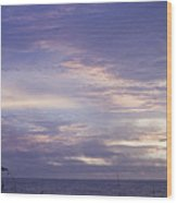 Atlantic Ocean Sunrise 3 Wood Print