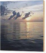 Atlantic Sunset 1 Wood Print
