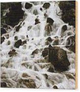 Atlas Creek Wood Print