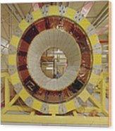 Atlas Detector Module Wood Print
