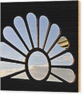Attic Window Wood Print