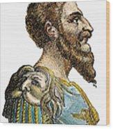 Attila, King Of The Huns Wood Print