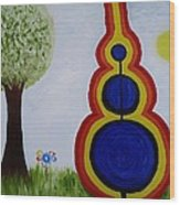 Attune - To Bring Into Harmony. Wood Print