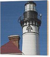 Au Sable Lighthouse 6 Wood Print