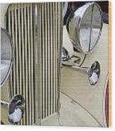 Auburn Grill Wood Print