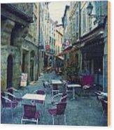 Auch- Rue Dessoles Wood Print