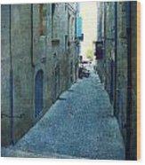 Auch-small Street Wood Print