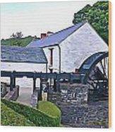 Auld Mill  Wood Print